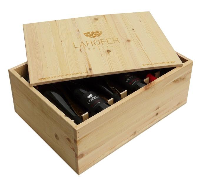 Bedny s vínem 3 až 12 vín