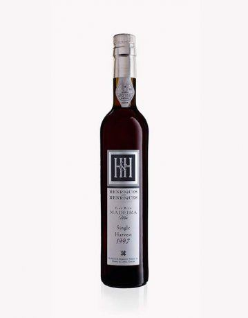 22 let staré víno Madeira 1997 Single Harvest 0,75 l