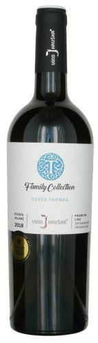 Cuvée Thomas Víno Hruška  Family collection 2018 pozdní sběr 0,75l suché 16818