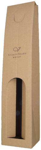 Volařík nosič papírový na 1 lahvičku 0,75 l