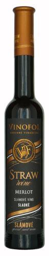Merlot Vinofol 2019 slámové víno 0,2 l sladké 1964