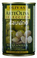 Zelené olivy s mandlí 300g Arte Oliva