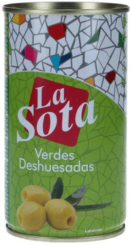 Pikantní zeleninový olivový koktejl 350g La sota