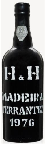 43 let staré víno Madeira 1976 H H Terrantez  0,75l