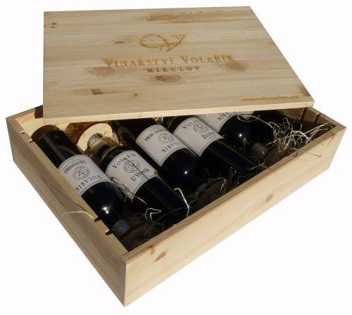 Dárková bedna Terroir s vínem 6 vín Vinařství Volařík