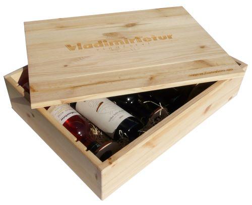 Dárková bedna s vínem 6 vín Vinařství Tetur