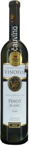 Pinot blanc Vinofol 2015 Family Collection pozdní sběr 0,75l suché 1531