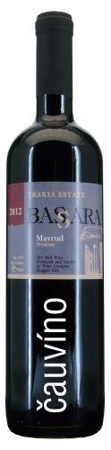 Mavrud premium Bassara 2015 Bulharsko Trakia Estata 0,75 l suché