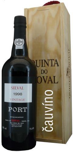 20 let staré portské víno1998 Quinta do Noval Vintage 0,75 l