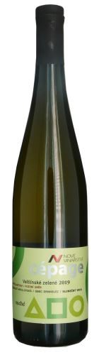 Veltlínské zelené Resveratrol Nové Vinařství 2019 pozdní sběr Cepagé 0,75l suché NV 447