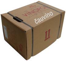 Rybízové ovocné sudové víno stáčené BIB box 20 l polosladké