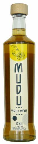 Medovina MUDU Yuzu+ Mead 0,7l  Hřebečská