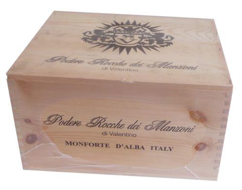 Bedna 6 vín Barolo riserva vigna Cappella di S.Stefano DOCG 2008 0,75l Itálie suché