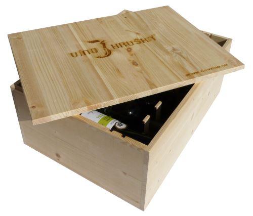 Dárková bedna s vínem 12 vín Vinařství Hruška
