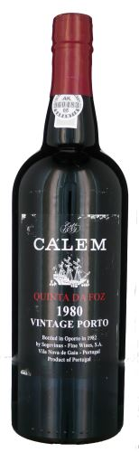 40 let staré portské víno 1980 Cálem Vintage Quinta 0,75 20% alk.