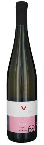 Cuvée Love 69 Nové Vinařství 2017 pozdní sběr 0,75l polosladké NV 246