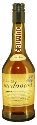 Medovina Knížecí 0,5 l Hřebečská