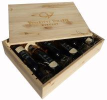 Dárková bedna s vínem 6 vín Vinařství Volařík