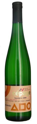Sauvignon Nové Vinařství 2015 výběr z hroznů Cepagé 0,75l polosladké NV 196