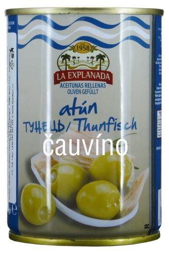 Olivy s tuňákem