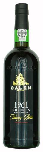 60 let staré portské víno 1961 Cálem Colheita Tawny 0,75 l sladké