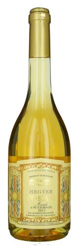 6 puttonyos Aszú 2013 Tokajské víno Tokaj Megyer 0,5 l sladké