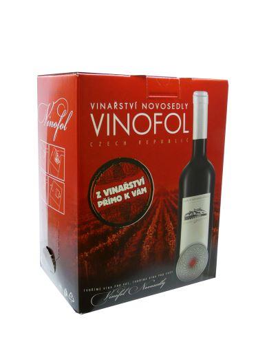 Cabernet Sauvignon Vinařství Vinofol BIB 5 l suché