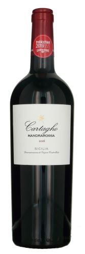 Nero d´Avola Cartagho DOC Mandrarossa 0,75 l Itálie suché