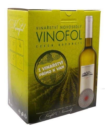 Savignon Blanc Vinařství Vinofol BIB 3 l polosuché
