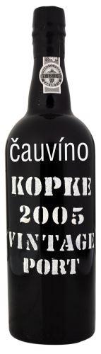 16 let staré portské víno 2005 Kopke Vintage 0,75l