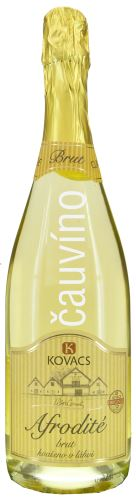 Afrodité Kovacs Chardonnay+ Ryzlink rýnský+ Rulandské bílé Brut 99 13