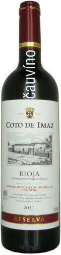 Coto De Imaz Reserva 2012 Rioja Španělsko 0,75l suché