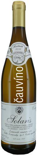 Solaris Žernosecké vinařství 2016 výběr z hroznů 0,75l polosladké 0616