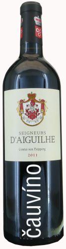 Seigneurs D'AIGUILHE 2017 AOC Cotes De Bordeaux Francie suché