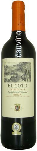 El Coto Crianza 2014 Rioja Španělsko 0,75l suché