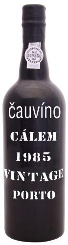 34 let staré portské víno 1985 Cálem Vintage 0,75 20% alk.