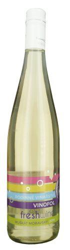 Muškát moravský Fresh wine Vinofol 2020 MZV 0,75 l polosladké  2028