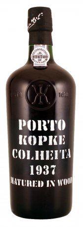 84 let staré portské víno 1937 Kopke Colheita 0,75 l