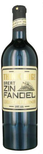Zinfandel Think Big Lodi Taster Wines California USA 0,75 l suché