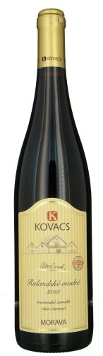 Rulandské modré Kovacs MZV 0,75l suché