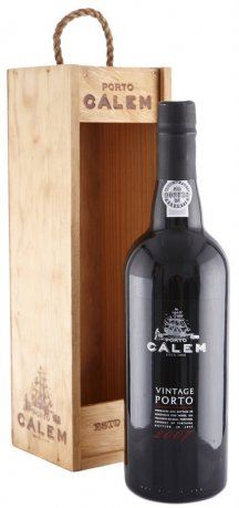 11 let staré portské víno 2007 Cálem Vintage 0,75 l