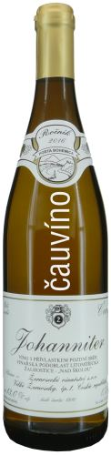 Johaniter Žernosecké vinařství 2016 pozdní sběr 0,75l suché 1916