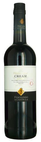 Sherry Premium Cream F. Castilla 0,75 l DOC Jerez de la Frontera 17% alk. polosladké
