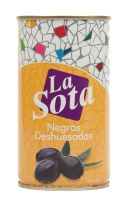 Černé olivy bez pecky 350g La Sota