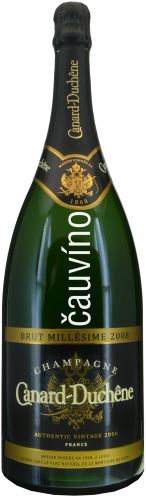 Champagne Magnum Brut Millesime 2008 Canard-Duchene 1,5l Francie Brut