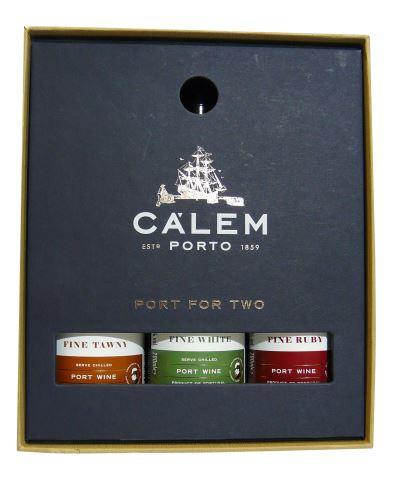 Cálem 3 x 200ml Fine Porto v dárkové krabičce
