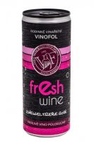 Zweigeltrebev plechovce Rosé Fresh wine Vinofol 2020 MZV 0,25 l polosuché 2065