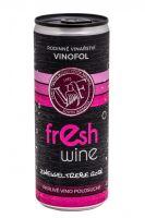 Zweigeltrebev plechovce Rosé Fresh wine Vinofol 2020 MZV 0,75 l polosuché 2065