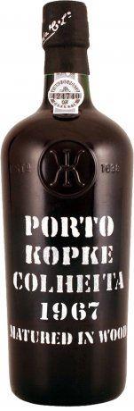 54 let staré portské víno 1967 Kopke Colheita 0,75 l