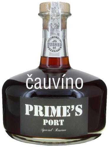 10 let staré víno Messias Primes Port wine Special Reserve decanter 0,75l 20% alk.